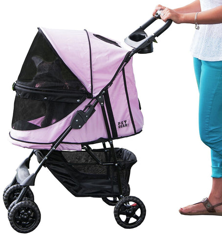 Pet Gear PG81NZPD Strollers Pink Diamond Finish