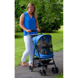 Pet Gear No-Zip PG8100NZSP Strollers Sapphire Finish