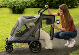 Pet Gear No-Zip PG8650NZDP Strollers Dark Platinum Finish
