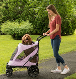 Pet Gear No-Zip PG8650NZLI Strollers Mountain Lilac Finish