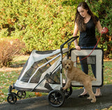 Pet Gear No-Zip PG8850NZFOA Strollers Fog Finish