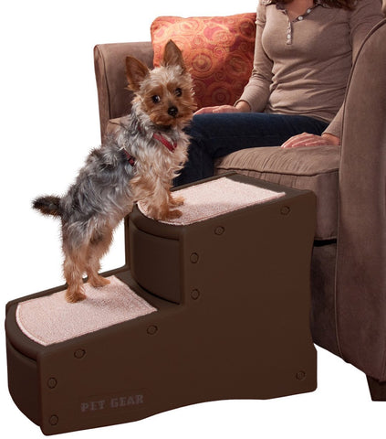 Pet Gear PG972CH Stairs / Ramps Chocolate Finish