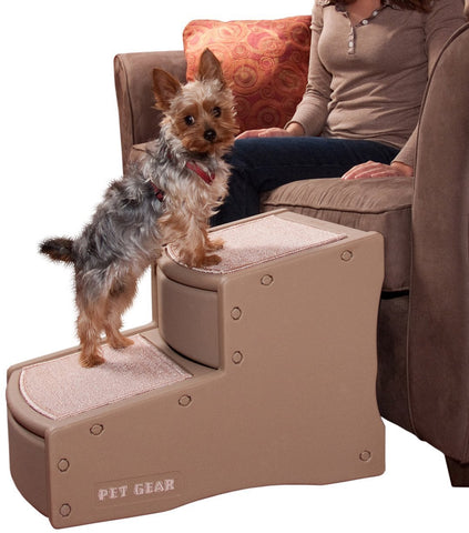 Pet Gear PG972TN Stairs / Ramps Tan Finish