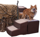 Pet Gear PG976CH Stairs / Ramps Chocolate Finish