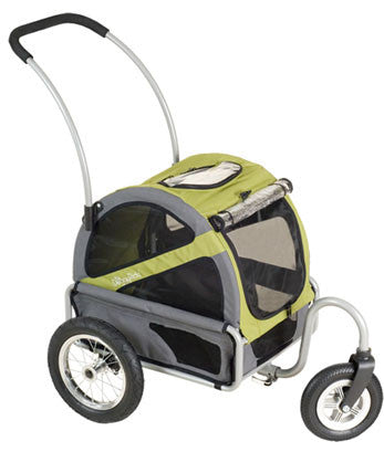 DoggyRide Mini Dog Stroller - Outdoors Green (DRMNST02-GR) - Pet Stroller World