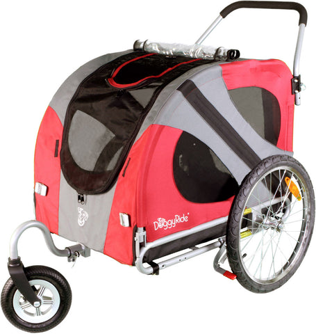 DoggyRide Original Dog Stroller (DRORST09-RD) - Pet Stroller World