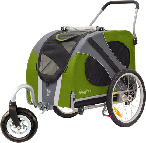 DoggyRide Novel Dog Stroller - Outdoors Green (DRNVST09-GR) - Pet Stroller World