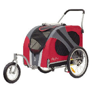 DoggyRide Original Dog Jogger-Stroller (DRORJS09-RD) - Pet Stroller World - 1