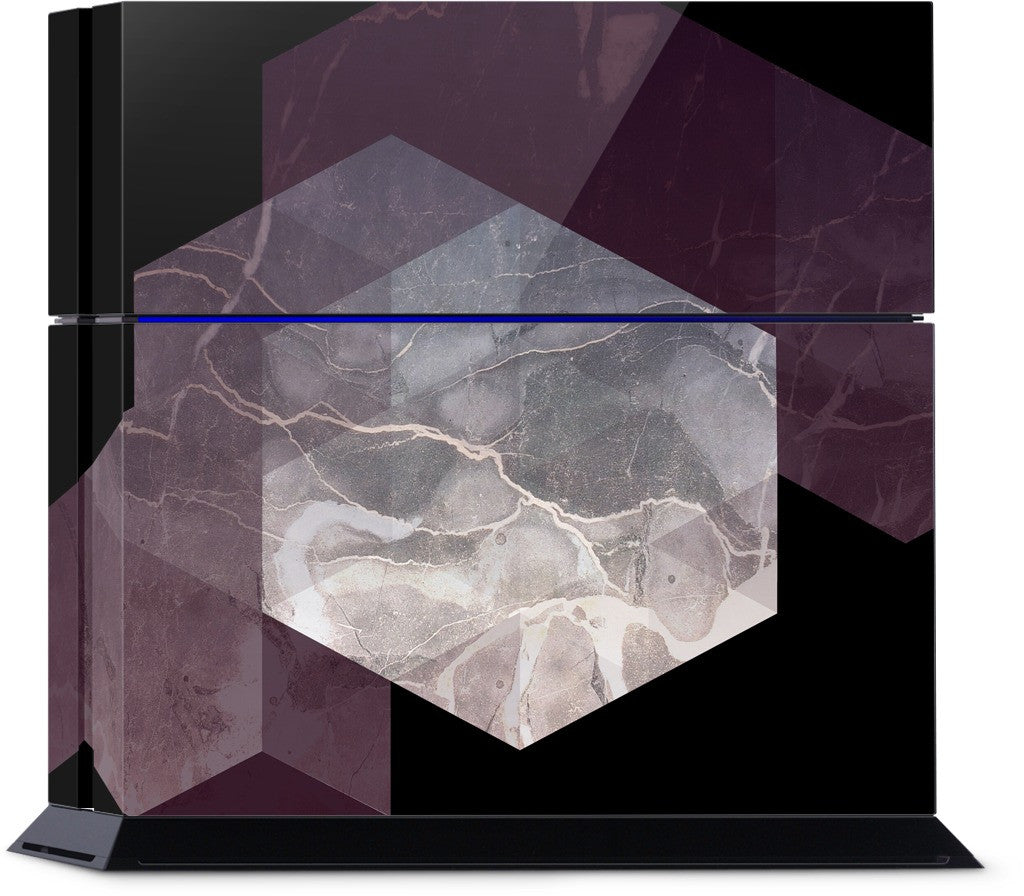 Marble Geometry PlayStation Skin