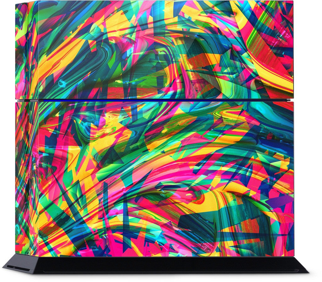 Wild Abstract PlayStation Skin