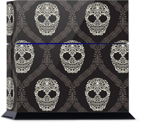 Skull Damask PlayStation Skin