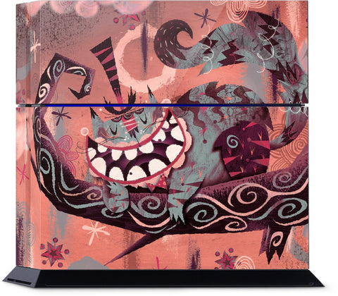 Cheshire Cat PlayStation Skin