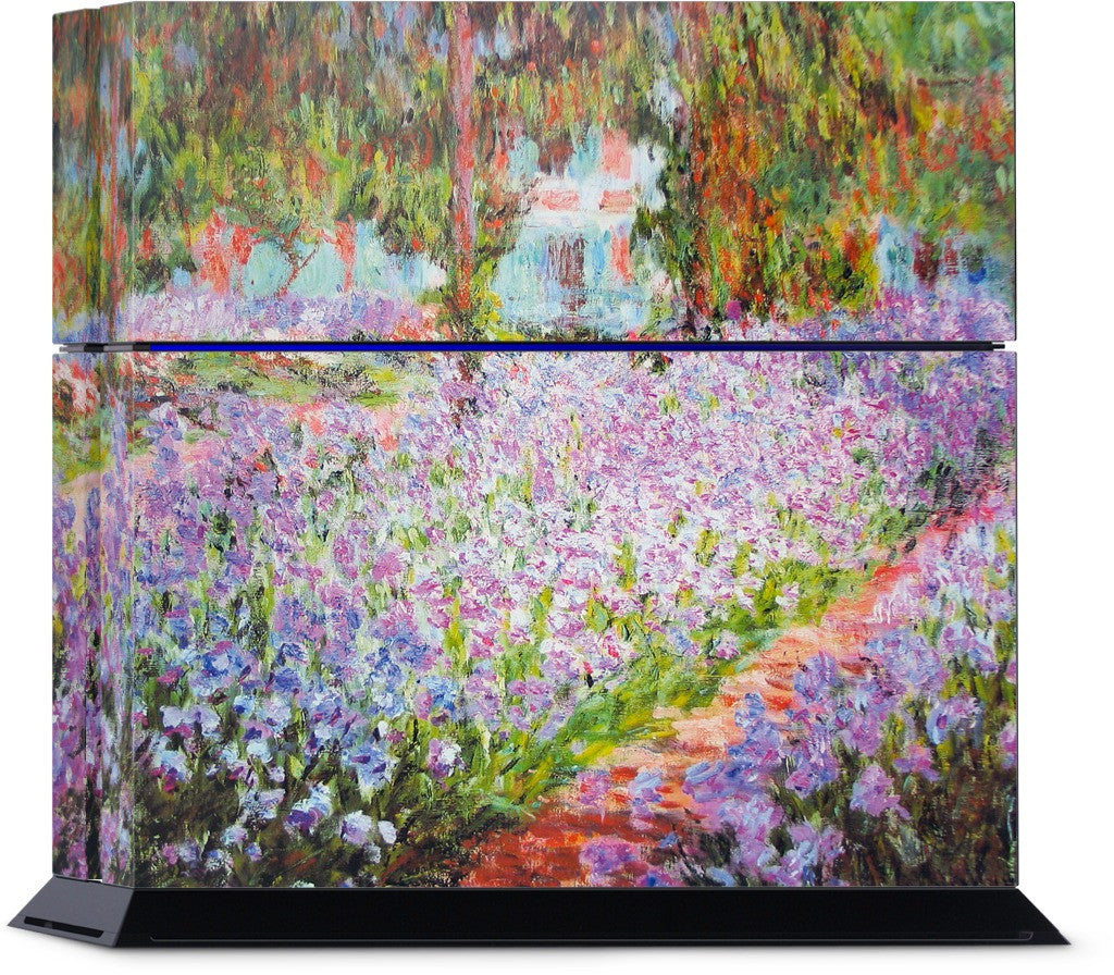 Artist's Garden at Giverny PlayStation Skin