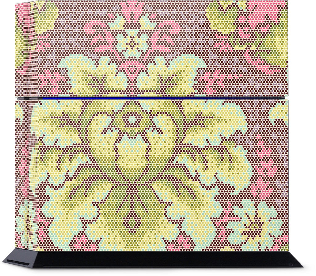 Damask Dot PlayStation Skin