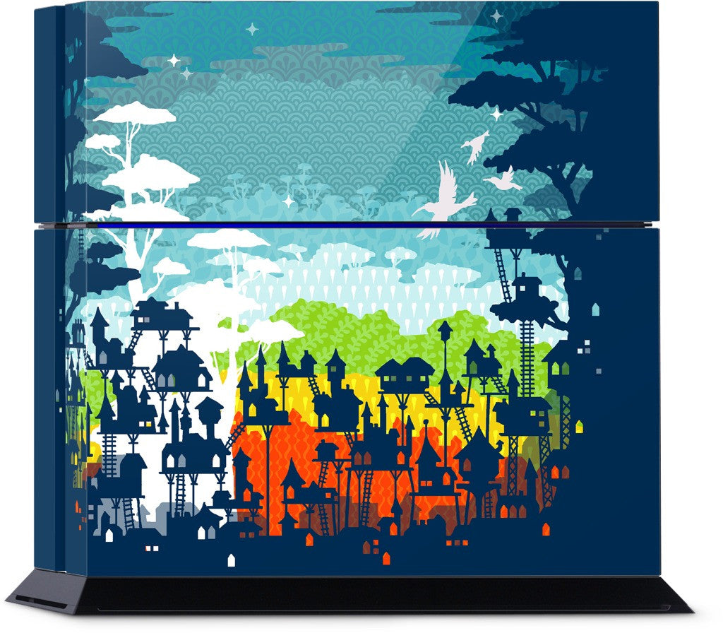 Rainforest City PlayStation Skin