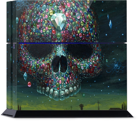 Skull Jewels PlayStation Skin