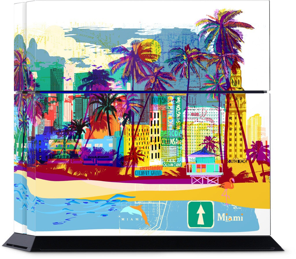 Miami PlayStation Skin