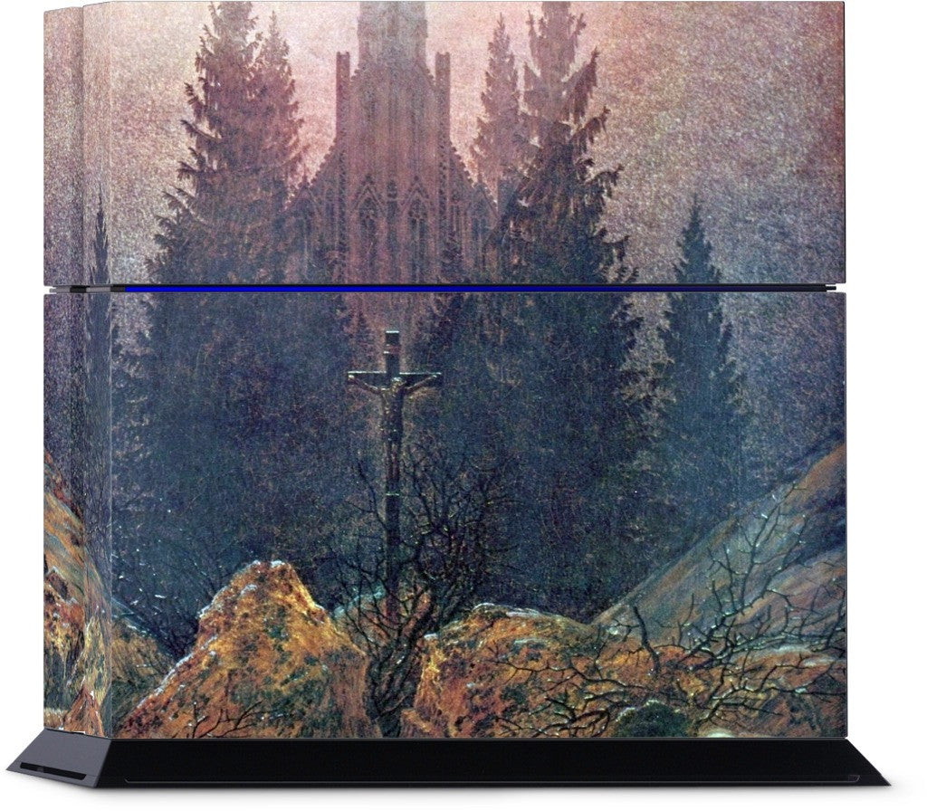 Cross in the Mountains PlayStation Skin