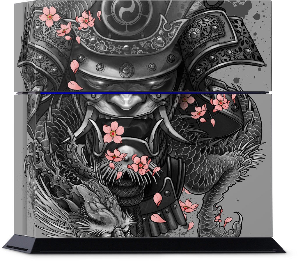 Samurai Dragon PlayStation Skin