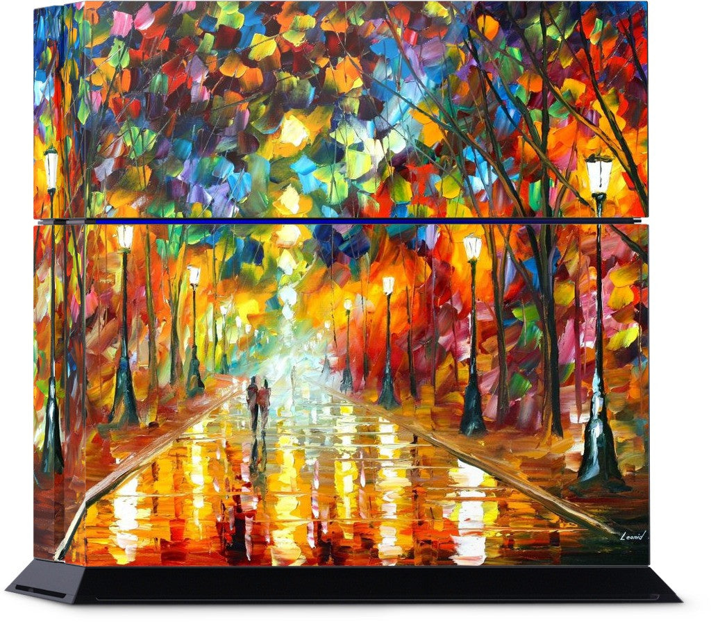 FAREWELL TO ANGER by Leonid Afremov PlayStation Skin
