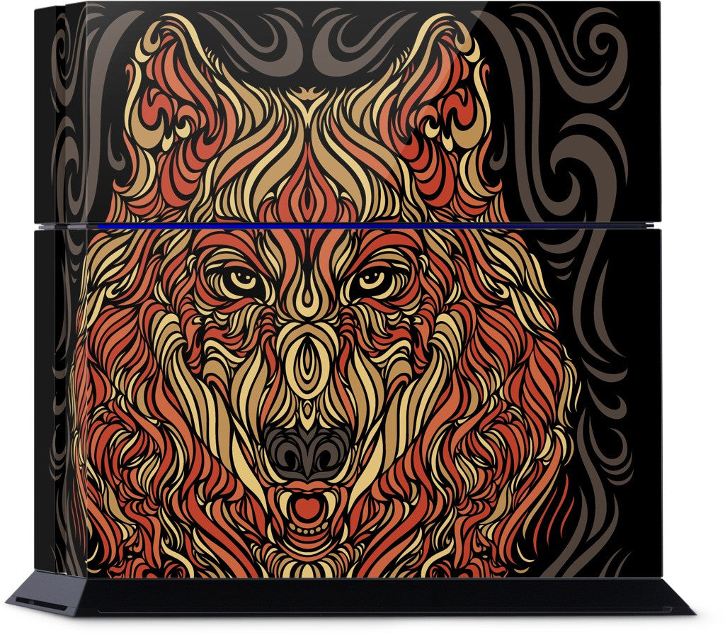 The Lone Wolf PlayStation Skin