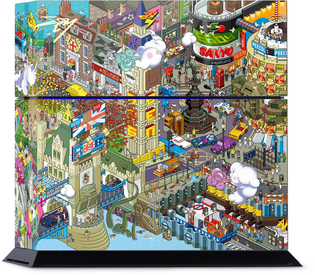 London PlayStation Skin