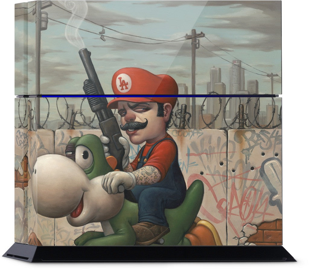 Mario 13 PlayStation Skin