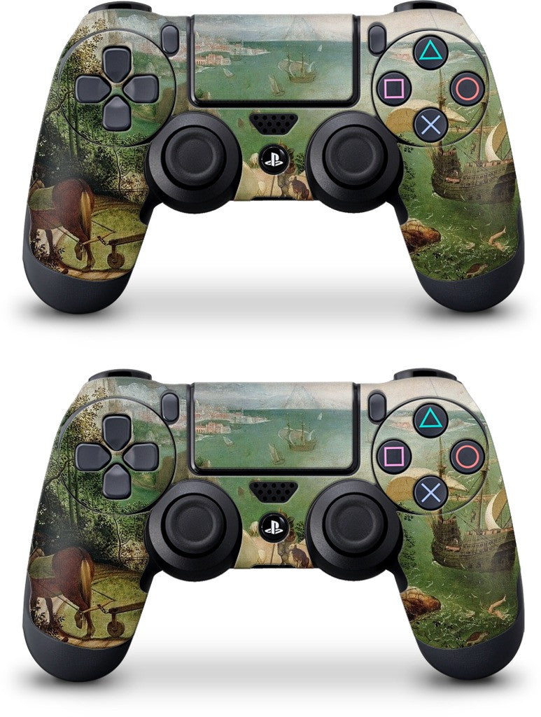 Landscape with the Fall of Icarus PlayStation Skin