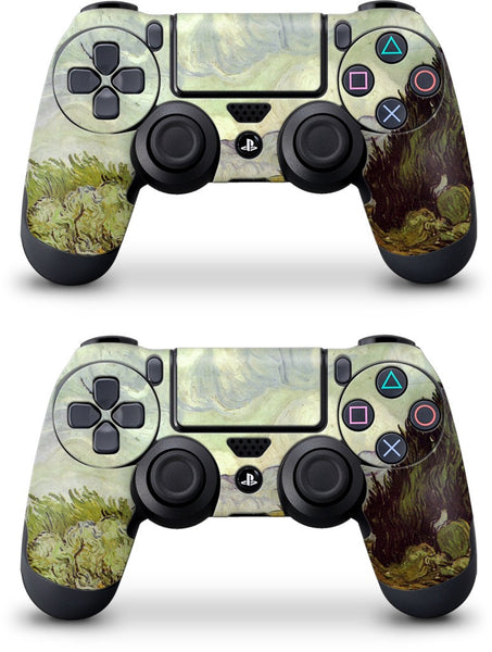 A Wheatfield with Cypresses PlayStation Skin