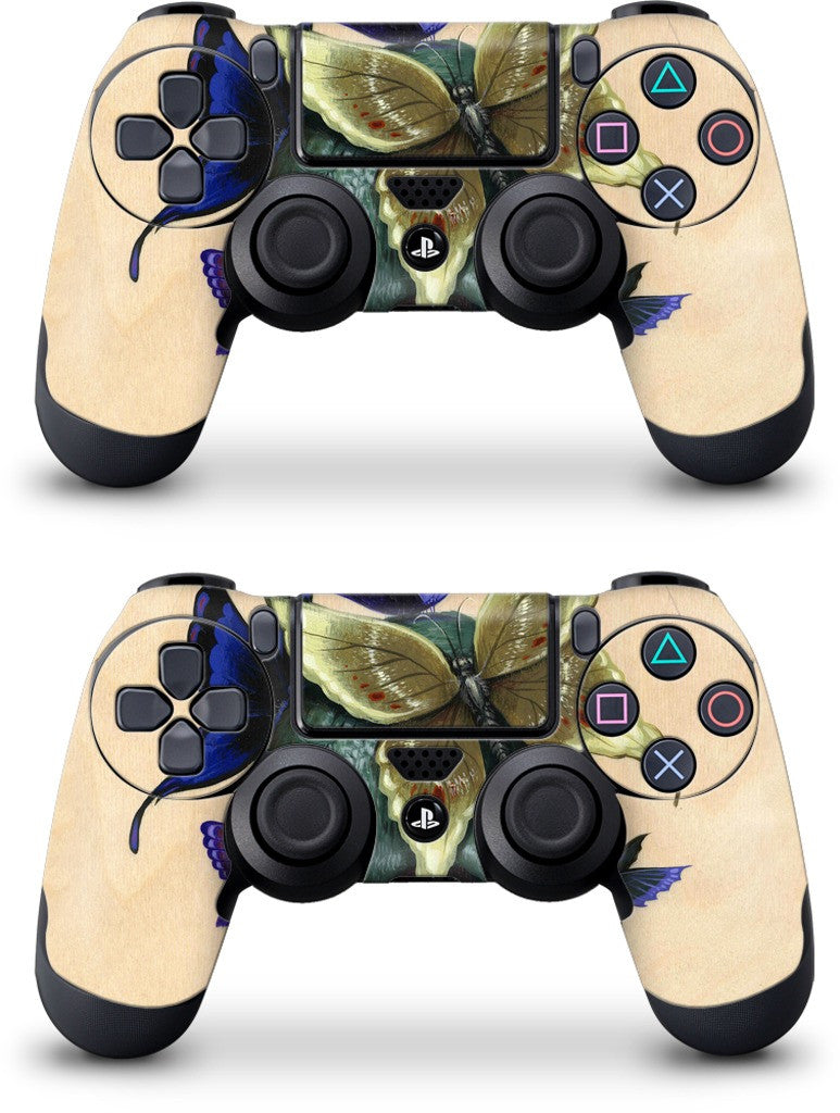 Butterfly Skull PlayStation Skin