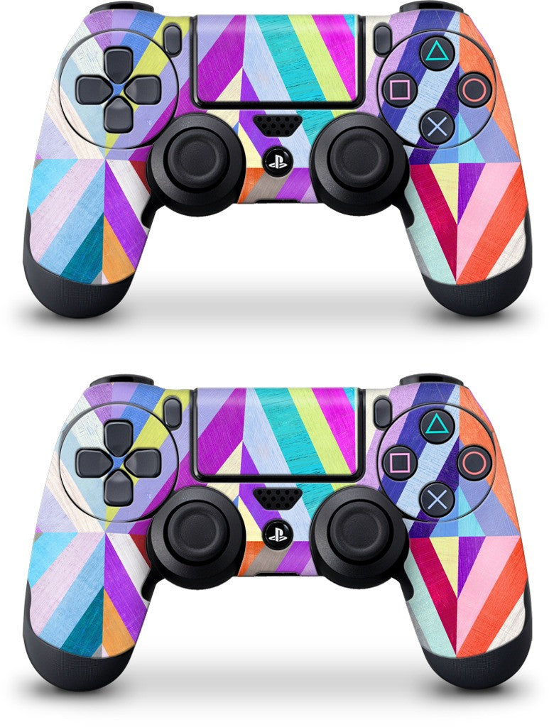 Purple Diamonds PlayStation Skin