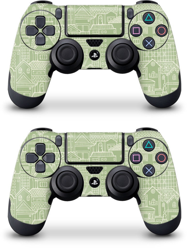Houses PlayStation Skin