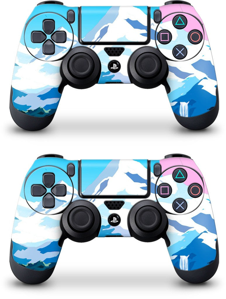 Mountains PlayStation Skin