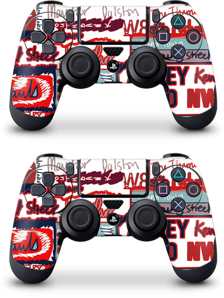 London Words PlayStation Skin
