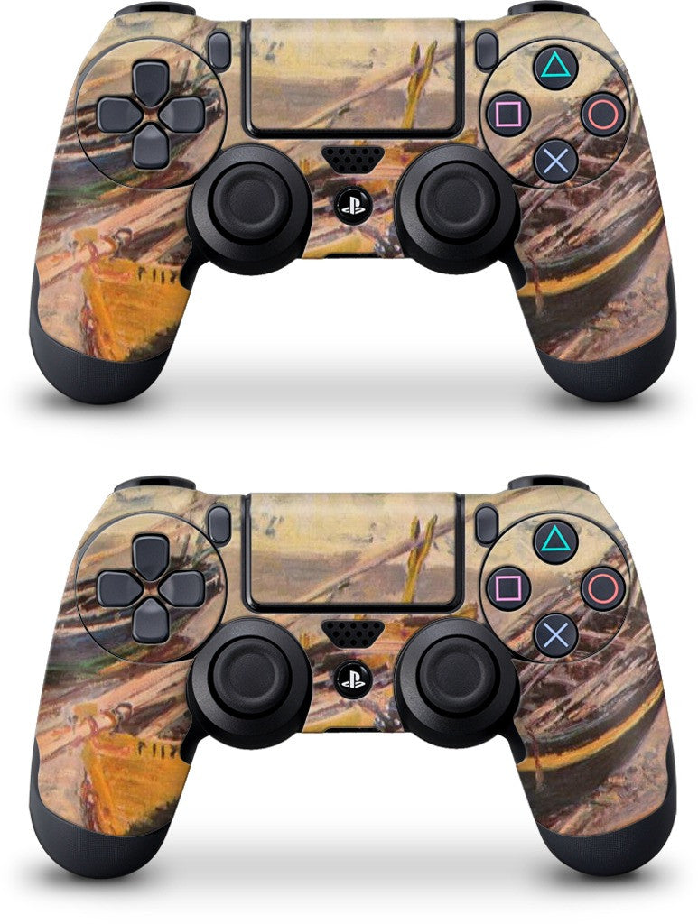 Three Fishing Boats PlayStation Skin