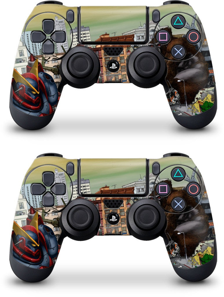 War Of The Monsters PlayStation Skin