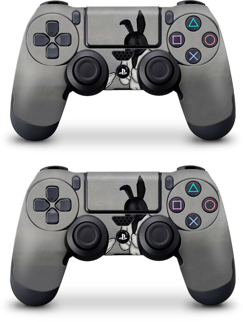 Black In White PlayStation Skin