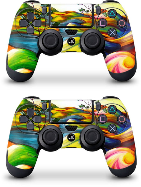 Summer Oasis PlayStation Skin