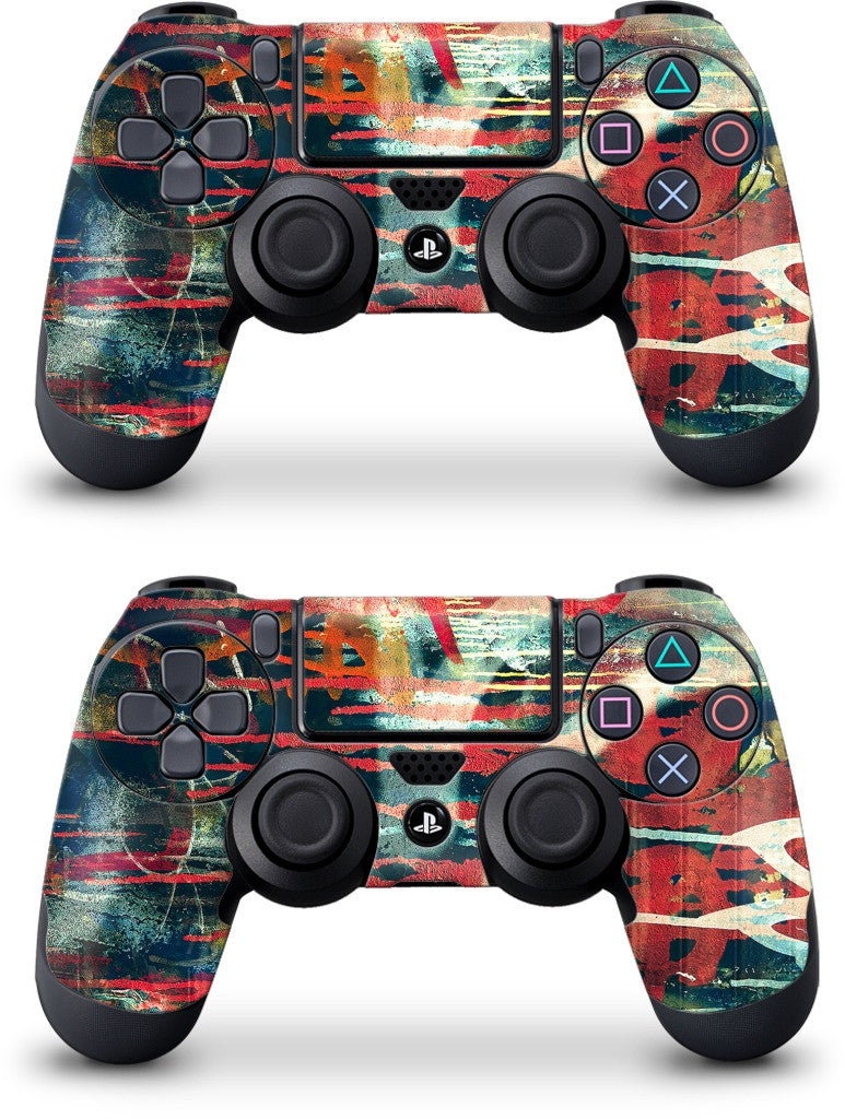 Graffiti Junior PlayStation Skin