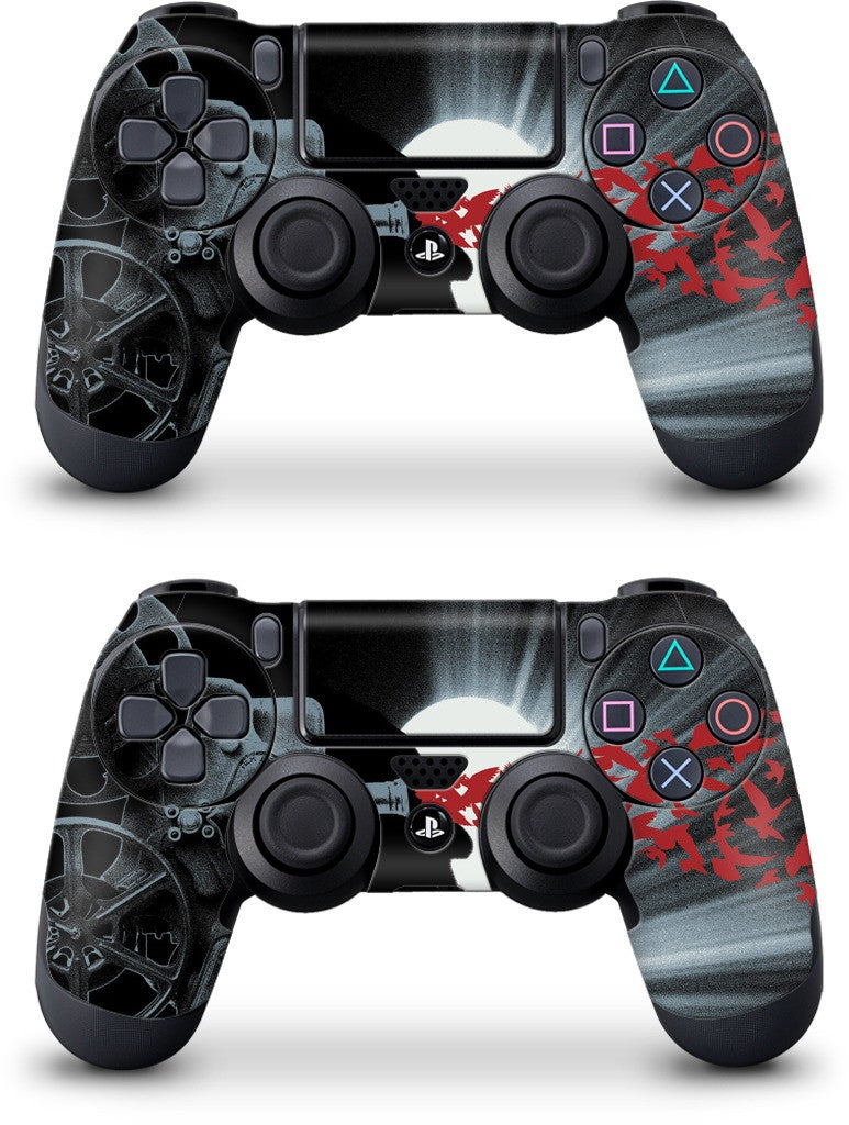 Seeing Red PlayStation Skin