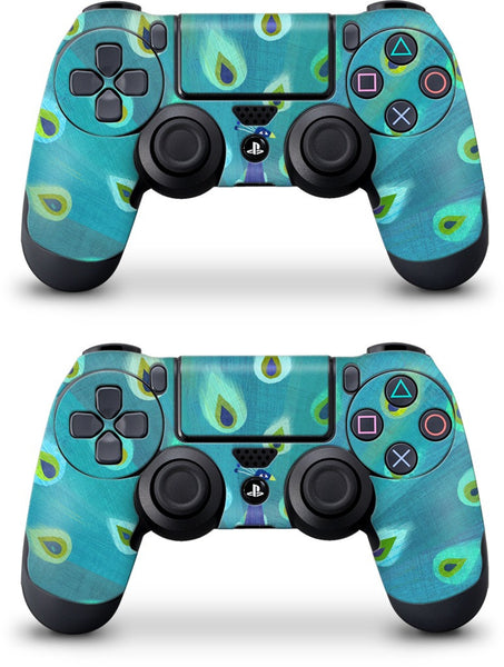 Patterned Peacock PlayStation Skin