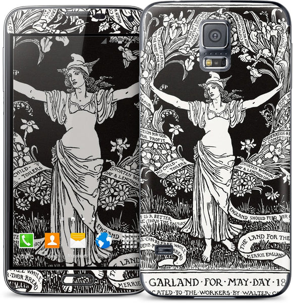 A Garland for May Day Samsung Skin