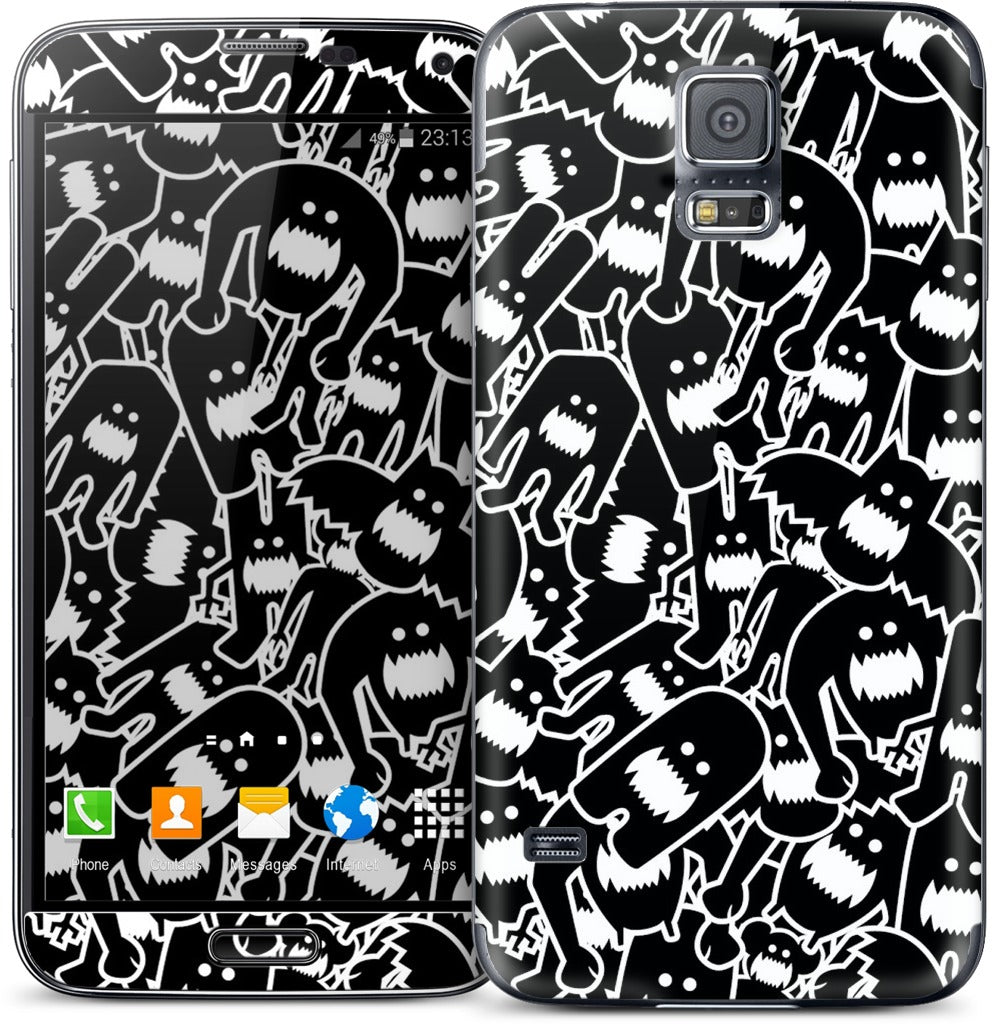 Monster Collage 2 Samsung Skin