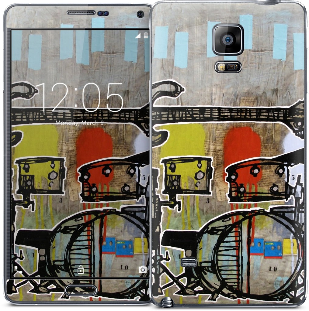 Drum and Bass Samsung Skin