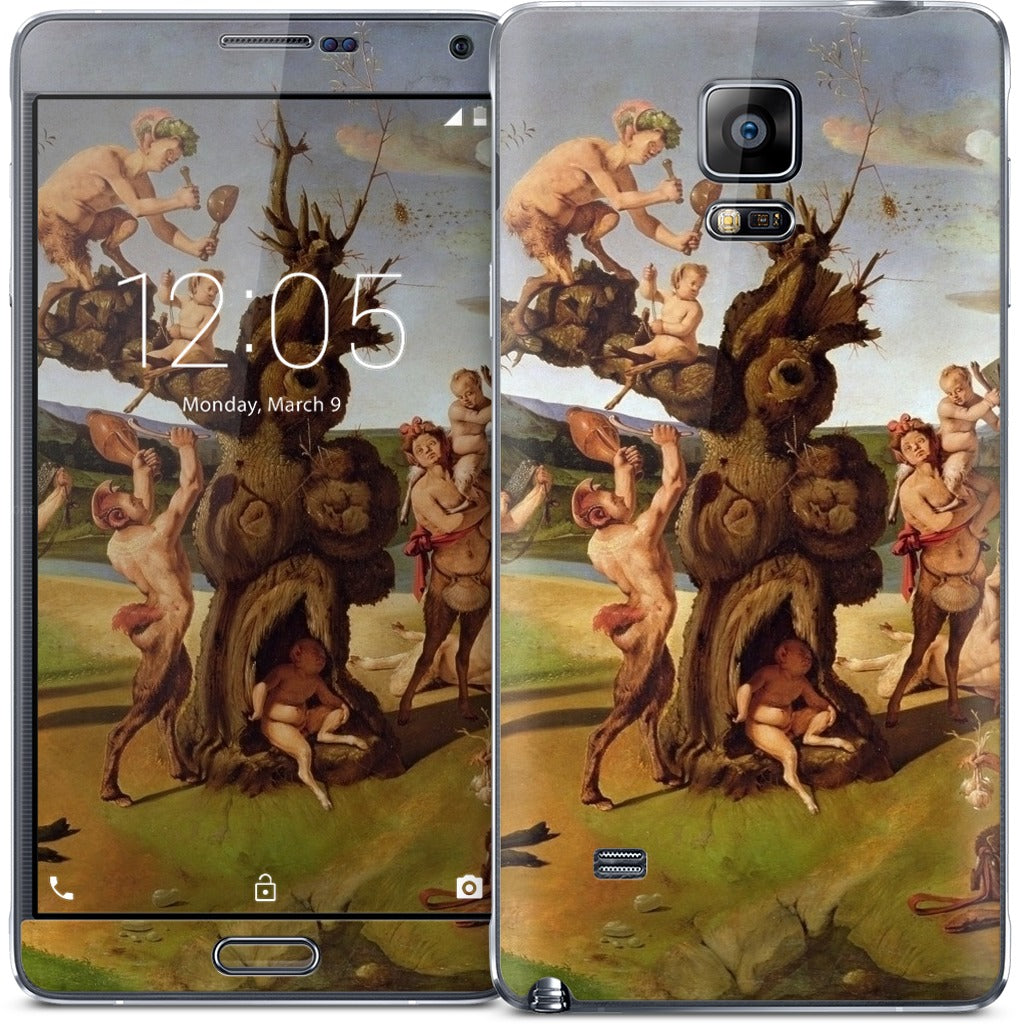 The Discovery of Honey by Bacchus Samsung Skin