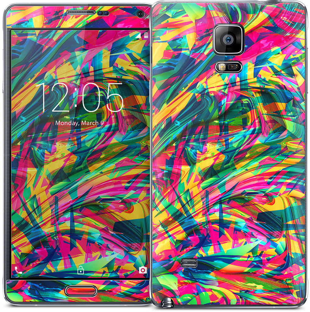 Wild Abstract Samsung Skin