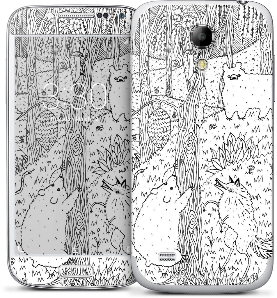 Diurnal Animals of the Forest Samsung Skin