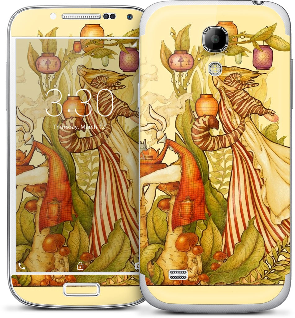 Tea Party Samsung Skin