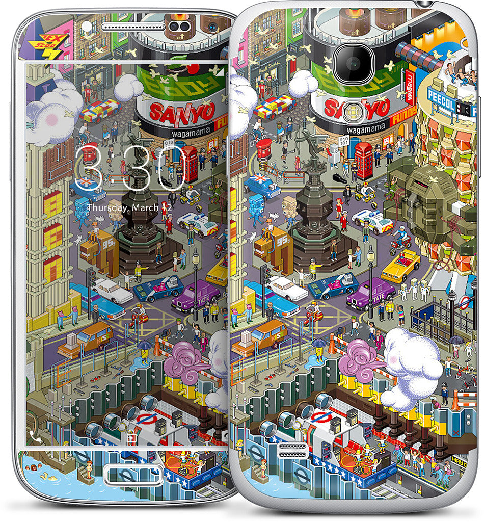 London Samsung Skin
