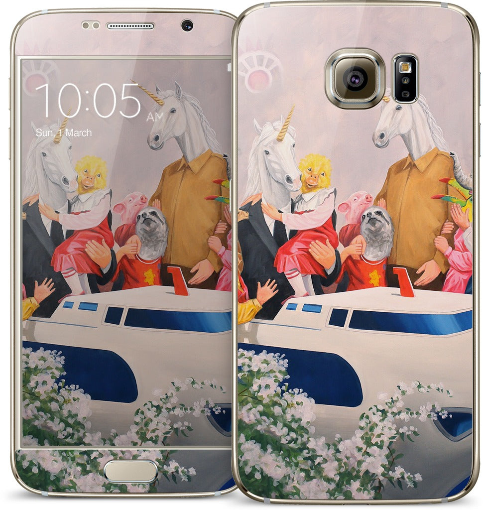 Let Us Build A fairyland For The People Samsung Skin